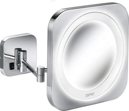 Зеркало косметическое с подсветкой настенное Kludi ESPRIT 5698805