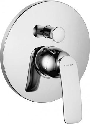Смеситель для ванны встраиваемый без излива, хром Kludi BALANCE 526570575