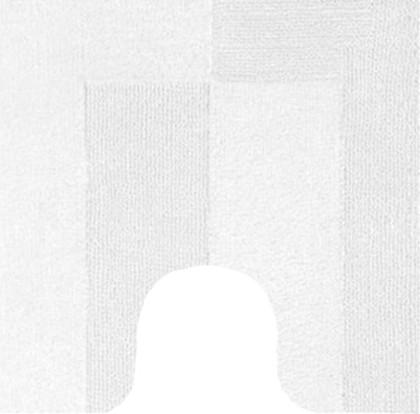 Коврик для туалета 55x55см белый Kleine Wolke HAVANNA 5418 129 114