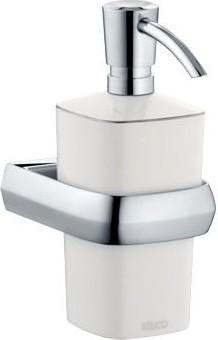 Дозатор жидкого мыла фарфоровый с хромированным держателем Keuco EDITION PALAIS 40052013000