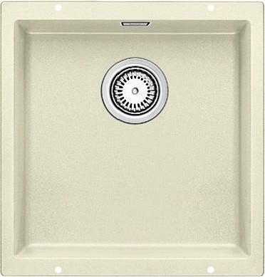 Кухонная мойка без крыла, с клапаном-автоматом, гранит, жасмин Blanco SUBLINE 400-U 515755