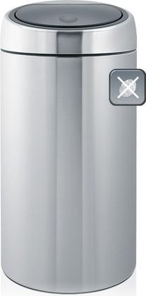 Ведро для мусора 45л стальное матовое Brabantia TOUCH BIN 390845