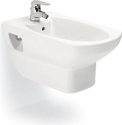 Керамическое подвесное белое биде Roca DAMA SENSO 357515000