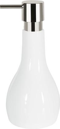 Ёмкость для жидкого мыла керамическая белая Spirella BALI 1018090