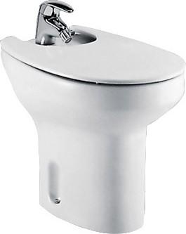 Керамическое напольное белое биде Roca VICTORIA 357390000
