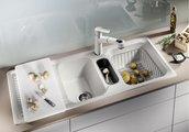 Корзина для посуды с держателями нержавеющая сталь 405х308х133мм Blanco 507829