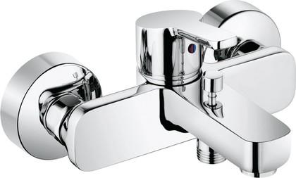 Смеситель для ванны однорычажный с изливом, хром Kludi LOGO NEO 376810575