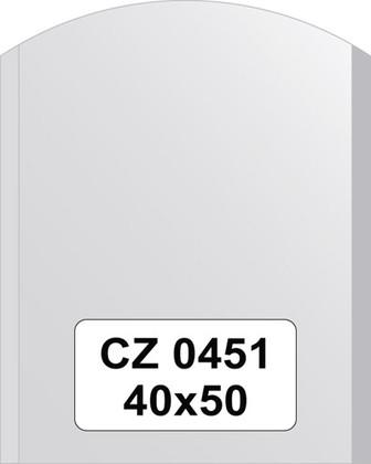 Зеркало для ванной 40x50см с фацетом 10мм FBS CZ 0451