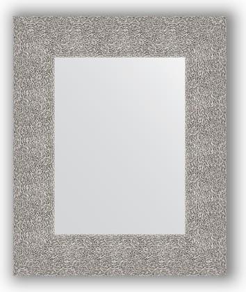 Зеркало в багетной раме 46x56см чеканка серебряная 90мм Evoform BY 3023