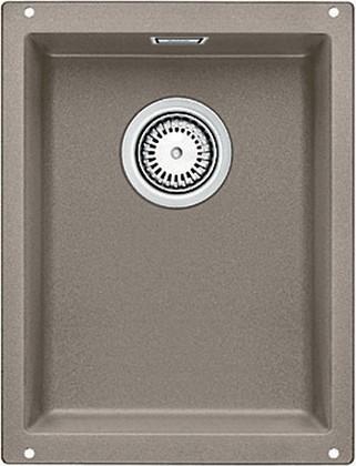 Кухонная мойка без крыла, с клапаном-автоматом, гранит, серый беж Blanco SUBLINE 320-U 517427