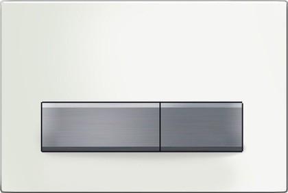 Клавиша двойного смыва, белая Geberit Sigma50 115.788.11.5