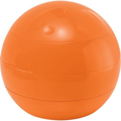 Шкатулка для аксессуаров оранжевая пластиковая Spirella BOWL BEAUTY 1016253