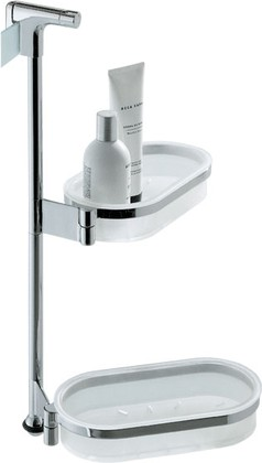 Штанга подвесная с аксессуарами для ванной, хром Colombo ISOLE-PIANTANE B9710
