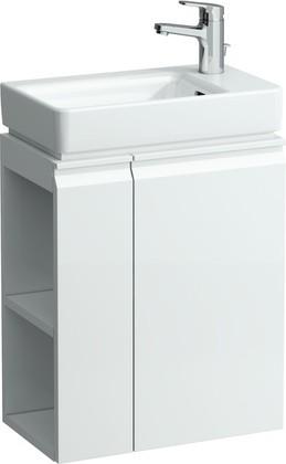 Шкафчик под раковину правый с полками 47см, белый Laufen PRO 4.8300.2.095.463.1