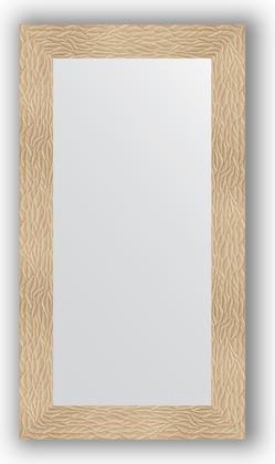 Зеркало в багетной раме 60x110см золотые дюны 90мм Evoform BY 3085
