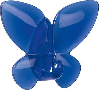 Крючок самоклеящийся синий Spirella MARIPOSA 1013948