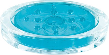 Мыльница голубая Spirella SYDNEY Clear-Acrylic 1017781