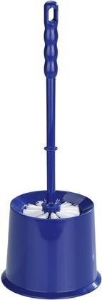 Ёрш для туалета с подставкой, синий Wenko ECONOMIC 19626100