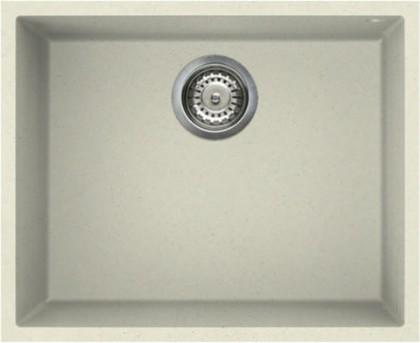 Кухонная мойка без крыла, гранит, ваниль Omoikiri Bosen 54-U-BE 4993162