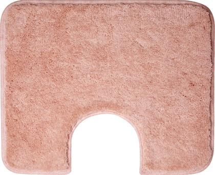 Коврик с вырезом под туалет 60x50см розовый Grund COMFORT WC 2399.06.4291