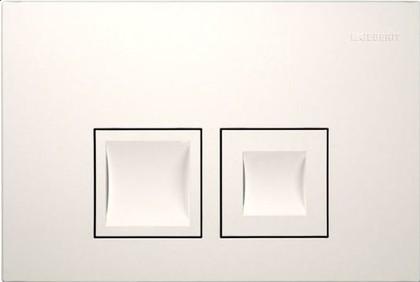 Кнопка двойного смыва для инсталляции, белая Geberit Delta50 115.135.11.1
