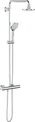 Душевая система с термостатом для настенного монтажа, хром Grohe EUPHORIA System 160 27296000