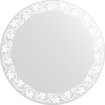 Зеркало для ванной с орнаментом диаметр 60см FBS CZ 0757