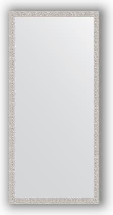 Зеркало в багетной раме 71x151см мозаика хром 46мм Evoform BY 3324