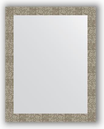 Зеркало в багетной раме 76x96см соты титан 70мм Evoform BY 3276