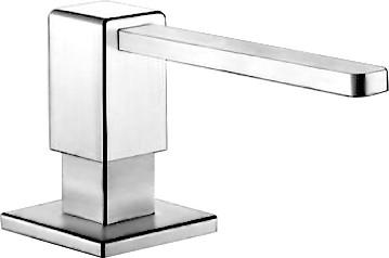 Дозатор жидкого моющего средства встраиваемый, хром Blanco LEVOS 517585