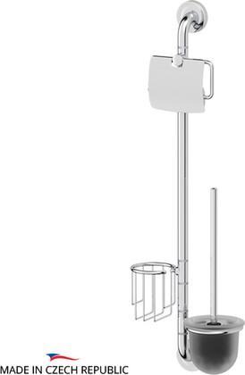 Стойка с аксессуарами для туалета, хром Ellux ELE 075