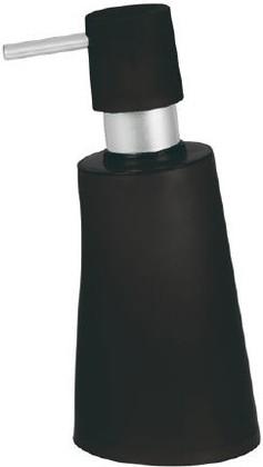 Ёмкость для жидкого мыла пластиковая чёрная Spirella MOVE 1014951