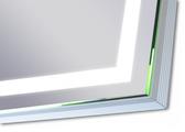 Зеркало 66.5x66.5см с LED подсветкой Dubiel Vitrum VOLANO 5905241002149