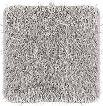Коврик для ванной 60x60см серый Kleine Wolke RIVA 5471 135 146