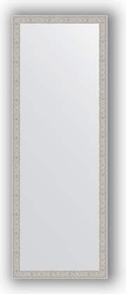 Зеркало в багетной раме 51x141см волна алюминий 46мм Evoform BY 3102