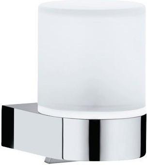 Дозатор жидкого мыла из матового хрусталя с держателем Keuco EDITION 300 30052019000