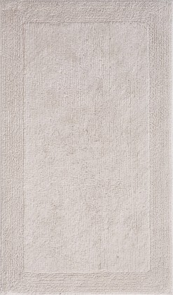 Коврик для ванной двусторонний 50x80см натуральный Grund LUXOR 2625.11.7151
