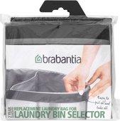 Мешок для бака для белья двойной, 55л серый Brabantia 102387