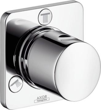 Запорный/переключающий вентиль для душа на 3 потребителя воды, ¾', хром Hansgrohe AXOR Citterio M 34920000