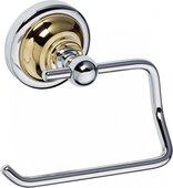 Держатель туалетной бумаги, золото-хром, Bemeta 144212028