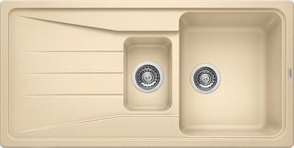 Кухонная мойка оборачиваемая с крылом, гранит, шампань Blanco SONA 6 S 519857