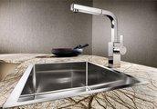 Кухонная мойка без крыла, нержавеющая сталь зеркальной полировки Blanco CLARON 550-IF 517220