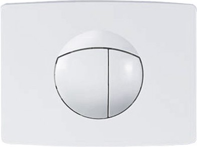 Клавиша смыва для инсталляции для унитаза, белая Sanit 16.701.01..0000