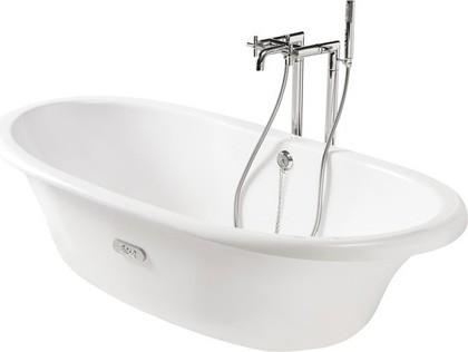 Овальная чугунная ванна 170x85см, Antislip Roca NEWCAST 233650007