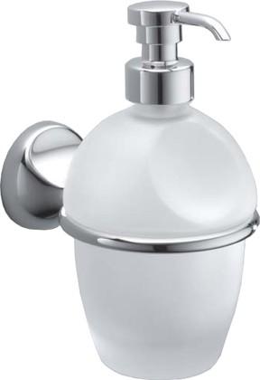Дозатор для жидкого мыла, стекло/хром Colombo MELO B9306