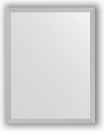 Зеркало в багетной раме 33x43см хром 18мм Evoform BY 3001