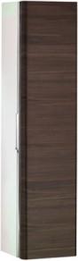 Высокий шкаф-пенал, петли справа, белый глянцевый / шпон дуба Keuco EDITION 300 30311389002