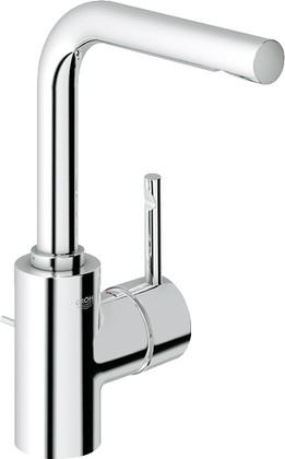 Смеситель однорычажный поворотный с донным клапаном для раковины, хром Grohe ESSENCE 32628000