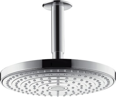Душ верхний, 2 вида струи, хром / белый Hansgrohe Raindance Select S 240 EcoSmart 26469000
