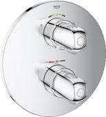 Термостат для душа встраиваемый без подключения шланга и без встраиваемого механизма, хром Grohe GROHTHERM 1000 New 19985000